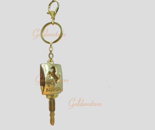 法拉利汽车促销钥匙扣高清图片
